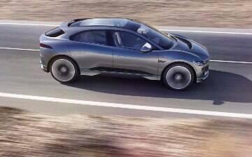 Jaguar confirma que vai mostrar seu primeiro elétrico, o I-Pace, em setembro