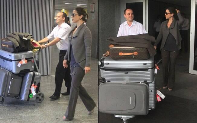 Guilhermina Guinle: quatro malas na bagagem!