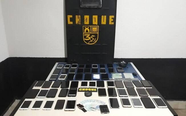 A polícia encontrou mais de 50 celulares com o colombiano que foi localizado após furtos no Carnaval de São Paulo