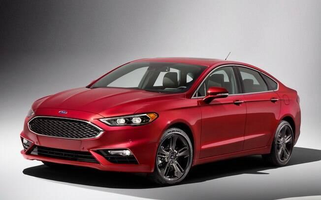 Ford Fusion Sport: fazia jus ao sobrenome, com motor de 325 cv, mas ficou longe do Brasil por questões mercadológicas