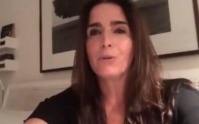 Malu Mader revelou, por meio de um vídeo, os motivos pelos quais não apoia o candidato Jair Bolsonaro nas eleições 2018