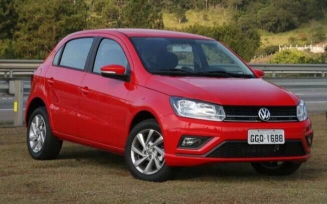 VW Gol vermelho
