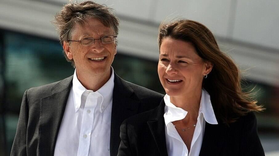 Bill e Melissa gates anunciaram separação nesta segunda-feira (3)