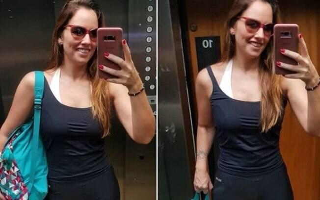 mariana Belém publica fotos mais magra e fãs comentam sobre uso de remédios e lipoaspiração