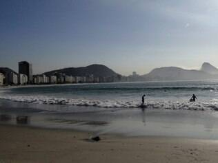 Copacabana, no Rio de Janeiro: a praia mais famosa do Brasil