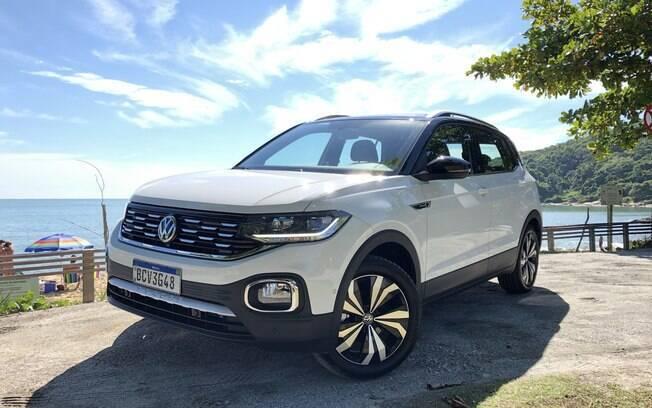 VW T-Cross chega às lojas em abril para estabelecer um novo patamar entre os SUVs compactos no Brasil