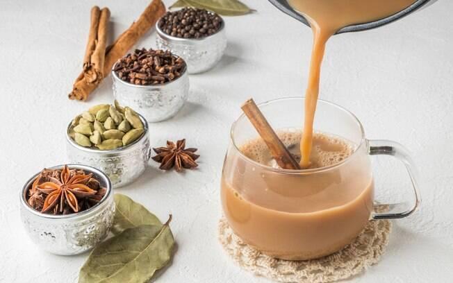 Para preparar o chai é simples e os ingredientes são facilmente encontrados em supermercados e quitandas