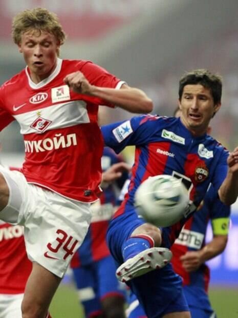 CSKA x Spartak é o maior clássico de Moscou