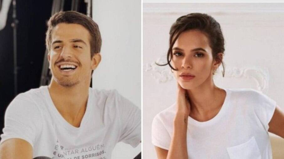 Enzo Celulari e Bruna Marquezine