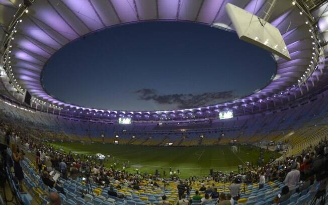 Maracanã reabre com jogo entre Amigos de  Ronaldo e Amigos de Bebeto