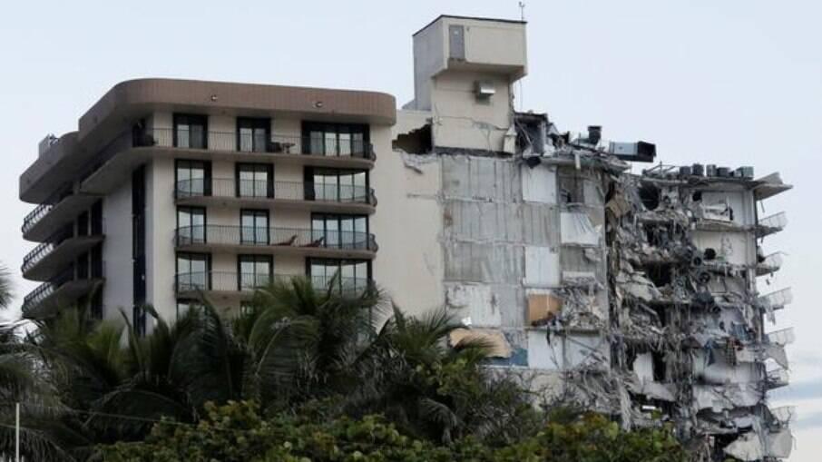 Prédio desabou na região de Miami, no último dia 24