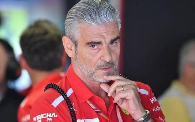 Maurizio Arrivabene deixou comando da Ferrari após quatro anos e sem conquistas