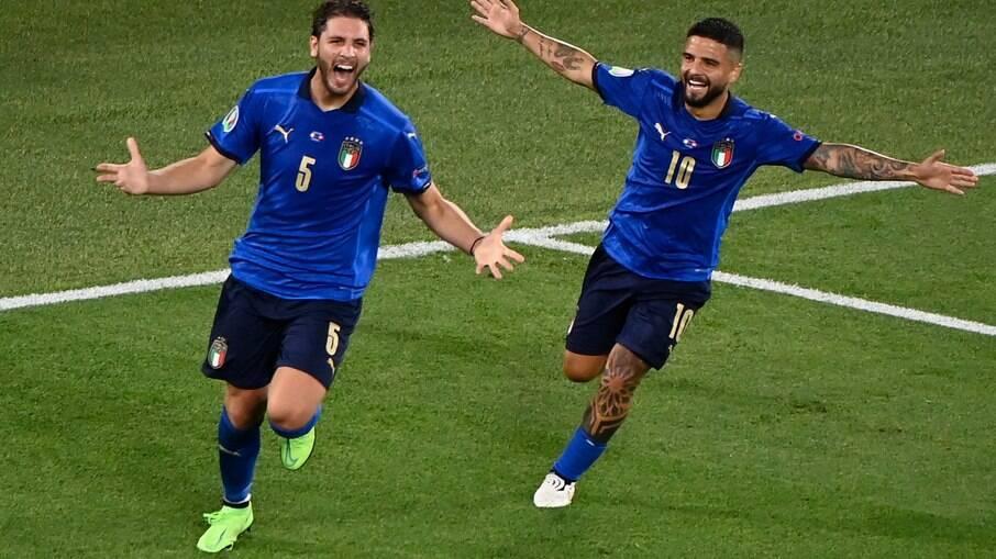 Itália vence com tranquilidade a Suíça