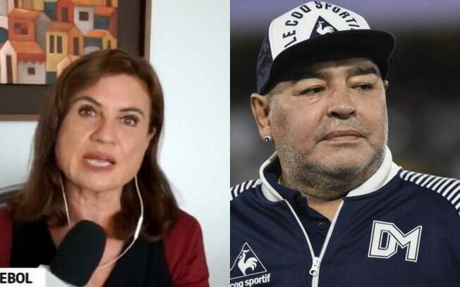 Isabela Scalabrini e Diego Maradona