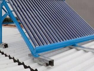 Chuva de granizo pode danificar sistema de aquecimento instalado no telhado