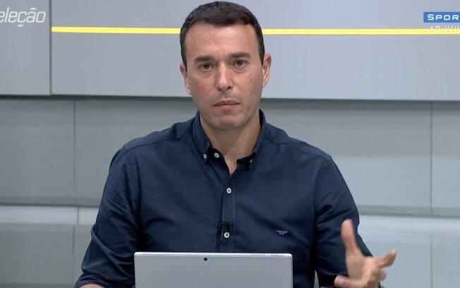 André Rizek criticou dirigentes