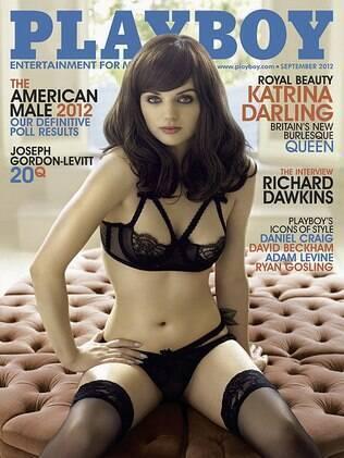 Katrina Darling estampa a capa da Playboy americana de setembro