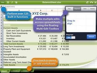 QuickOffice permite criar e editar planilhas eletrônicas no smartphone ou tablet