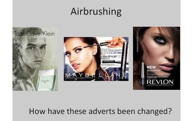 Anúncios que abusam do Photoshop
