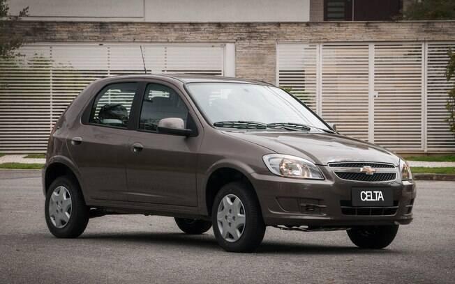 O Celta ficou marcado como um dos veículos mais vendidos da General Motors no Brasil