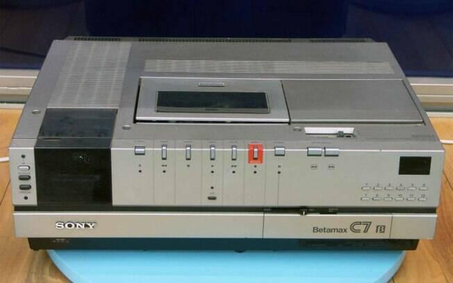Sony Betamax foi um dos produtos que ficaram para trás ao ser exclusividade de somente uma fabricante