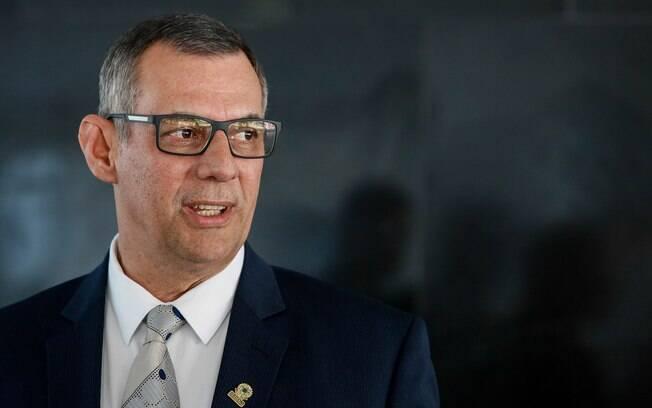 Porta-voz da Presidência da República, Otávio Santana do Rêgo Barros atualiza quadro clínico de Jair Bolsonaro