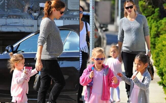 Jennifer Garner leva as Violet e Seraphina ao balé