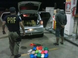 Suspeito já tinha passagens pela polícia por tráfico de drogas