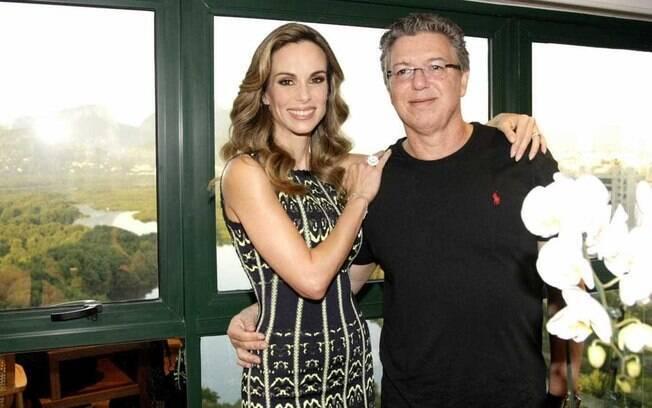 Ana Furtado e Boninho fazem  parte dos famosos que se relacionam com pessoas bem mais velhas ou bem mais novas