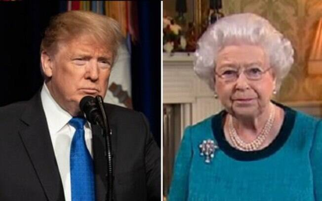 Em visita ao Reino Unido, Trump deve se encontrar com a Rainha para cerimônia