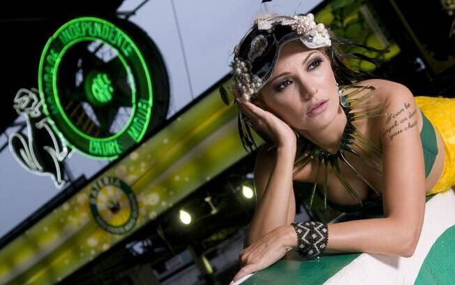 Antônia Fontenelle é a nova rainha da Mocidade Independente