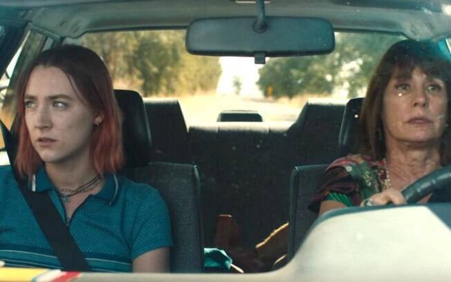 Saoirse Ronan e Laurie Metcalf, ambas indicadas ao Oscar, em cena de Lady Bird, que estreia nesta quinta-feira (15) nos cinemas brasileiros