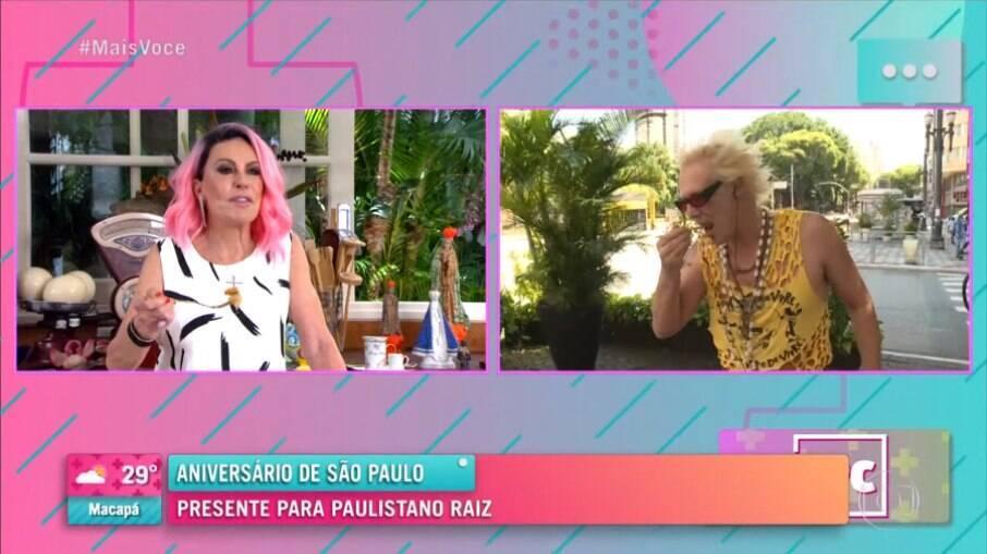 Supla prova receita de Bauru ao Forno, enviado pela apresentadora Ana Maria Braga, durante o programa