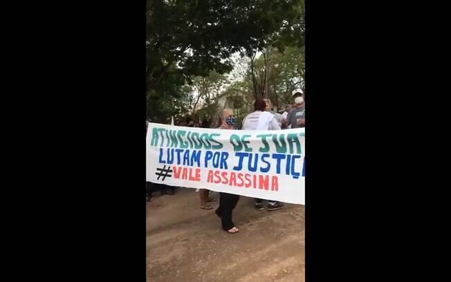 Moradores de Brumadinho ocupam sede da Vale para reivindicar direitos