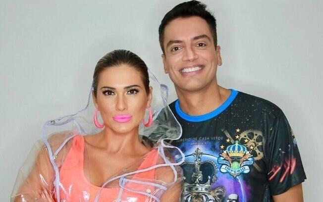 Leo Dias e Lívia Andrade