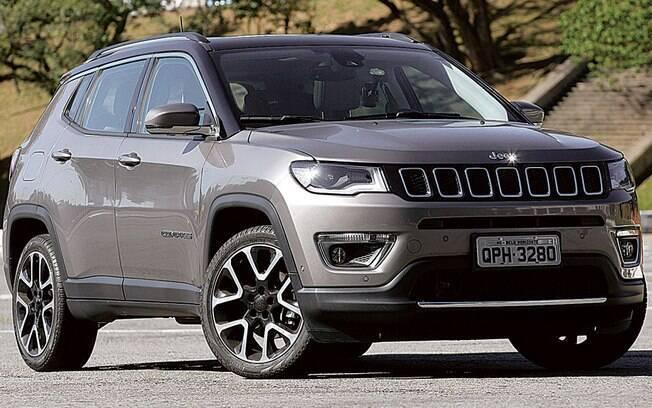 Jeep Compass foi o SUV médio mais vendido do Brasil, superando VW Tiguan e Chery Tiggo 5X