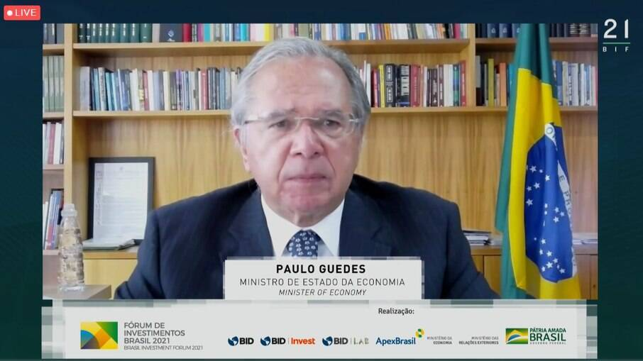 Guedes no Fórum de Investimento Brasil