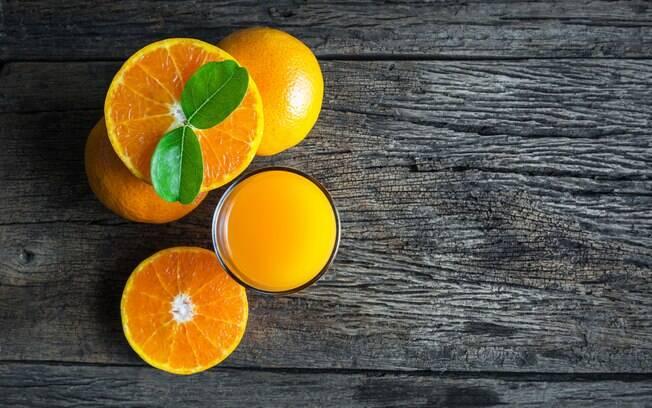 Alimentação e exercícios: laranja é um clássico quando se fala em vitamina C
