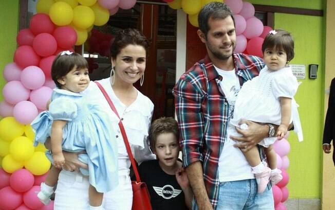 Giovanna Antonelli, Antônia, Sofia, Pietro e Leonardo Nogueira
