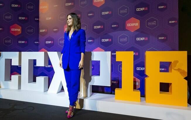 Sandra Bullock na  CCXP 2018