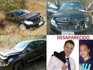 Carro do engenheiro foi encontrado batido, porém, sem os seus pertences