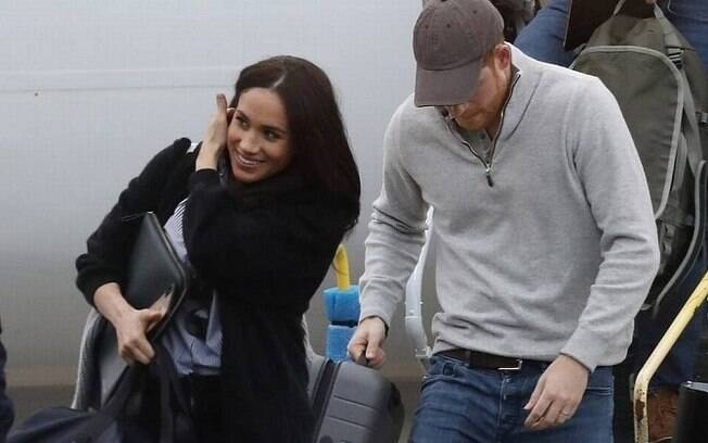 Harry e Meghan voltaram de viagem aos Estados Unidos