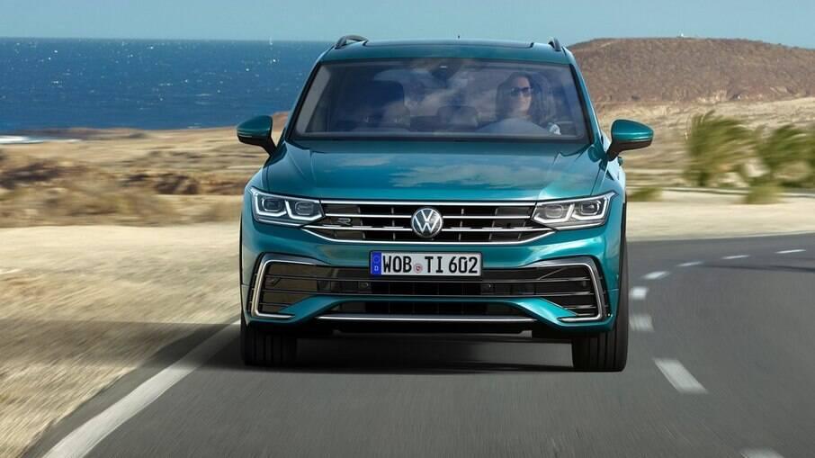 VW Tiguan pode perder versão de cinco lugares no Brasil para não