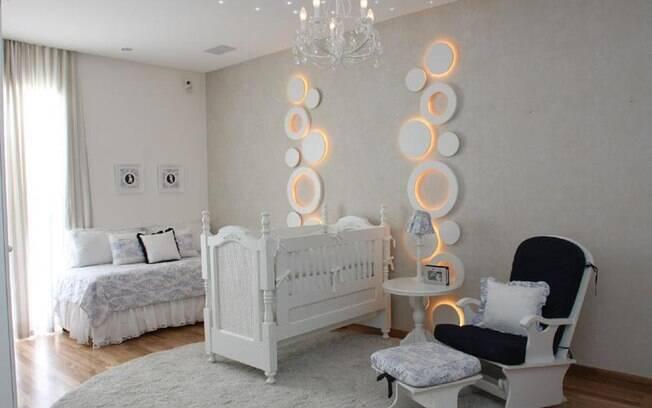 90 ideias para decorar quartos de bebês e crianças  ~ Como Fazer Uma Luminaria Para Quarto