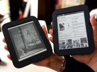 Nook, leitor de e-books da Barnes & Noble, permite ler também conteúdo de revistas