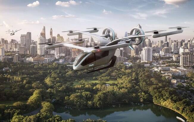 Embraer (EMBR3) vende 50 'carros voadores' para empresa brasileira