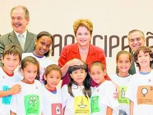Atendimento. A presidente Dilma Rousseff relembrou os programas sociais bem-sucedidos do governo
