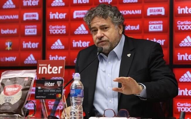 Casares, presidente do São Paulo