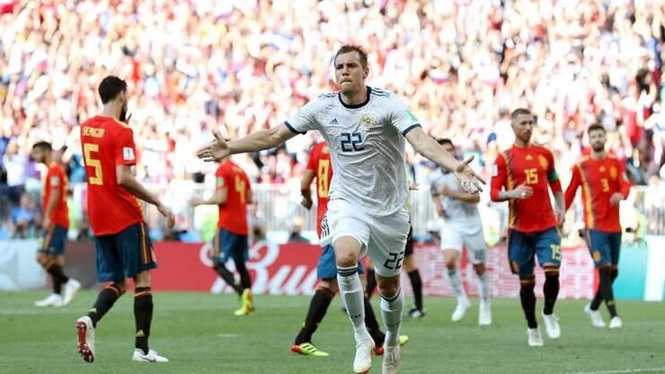 93c2c1d6d2 Rússia segura a favorita Espanha e
