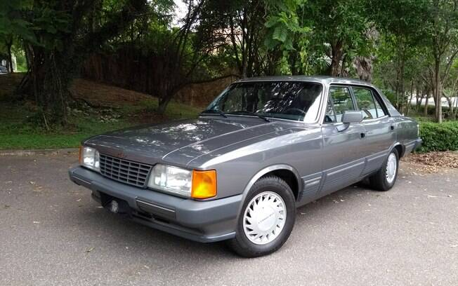 Chevrolet Opala Diplomata SE: um dos sedãs mais luxuosos fabricados entre o fim dos anos 80 e o início dos 90